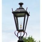 Medium Black Dorchester Lantern Lantern Top