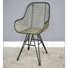 Metal Wire Chair in an Industryle Style