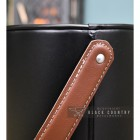 Close-up of the Leather Handle