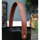 Close-up of the Leather Strap Handle