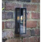 Modern Simplistic Squared Wall Light in Situ on a Brick Wall