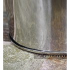 Close of the Base of the Modern Stainless Steel Ash Bucket