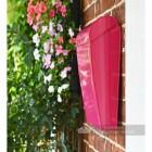 """Persian Summer"" Bright Pink Contemporary Post Box"
