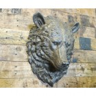 Mountain Bear Wall Bust