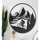 Wall Art with Mountain Bike Design