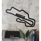 Mugello Race Track Wall Art in the Living Room