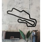Mugello Motor Circuit Wall Art