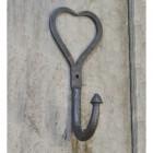 Iron Heart Design Coat Hook