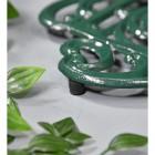 Green Cast Iron Kettle Trivet Feet