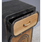 """Drawer on the Front of the """"No 1"""" Industrial Bedside Cabinet"""