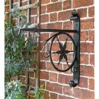 Hanging Basket Bracket with Star Design
