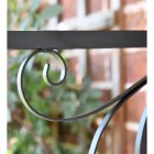 "Scroll Design on the ""Northern Star"" Hanging Basket Bracket"