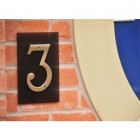 Suspended House Numbers Doubles
