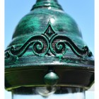 Ornate Detailing on baroque luminaire