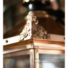 Ornate Finials On The Copper Lantern