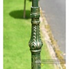 Ornate Fluting On Cast Iron Lamp Post