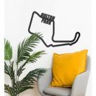 Oulton Park Motor Racing Circuit Wall Art in Situ in the Living Room