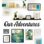 Our Adventures Wall Art in full