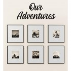 Our Adventures Wall Art