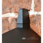 Oxford Traditional Flush Outdoor Half Wall Lantern Finial