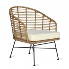 """Pair of Armchairs Created From Polyethylene """"Bamboo"""""""