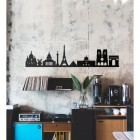 Paris Skyline Wall Art in Full