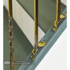 "Set of 2 ""Alessi"" Alternating Stair Spindles - Pattern 1"