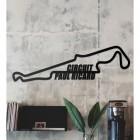 Paul Ricard Circuit Wall Art in the Living Room