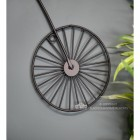 Penny Farthing Design Black Wall Art