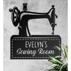 Personalised Sewing Room Sign
