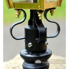 Frog collar and Brass Fixings on the Lantern