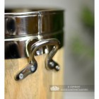 Close-up of the Handles on the Walking Stick and Umbrella Stand