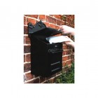 Black Goldhay Secure Post and Parcel Box