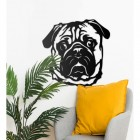 Pug Art in Situ in the Home