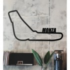 Monza Race Track Wall Art in the Living Room