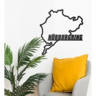 Nürburgring Race Track Wall Art in Situ in the Sitting Room