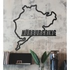 Nürburgring Race Track Wall Art in Situ