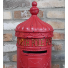 """Reindeer Express"" North Pole Post Box in Red"