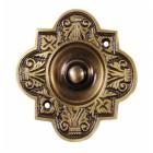 Antique Brass bell Push