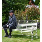 """Robust """"Chatham"""" Park Bench to Scale"""