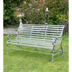 """Robust """"Chatham"""" Park Bench Finished in a Rustic Grey"""
