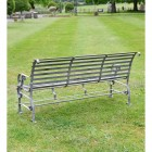 """View of the Back of the Robust """"Chatham"""" Park Bench"""