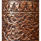Close-up of the Ornate Design on the Umbrella Stand