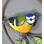 Close-up of the Blue tit on the Wall Art