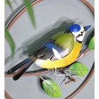 Blue Tit in a Hand Painted Finish