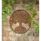 Round Tree of Life Rustic Wall Art in Situ