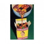 Rowntree Fruit Gums Metal Sign
