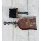 fireside brush & Pan Set In A Rustic Finish