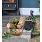 Rustic Brush & Pan Set in Situ by the Fire Place