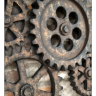 Close-up of the Cogs